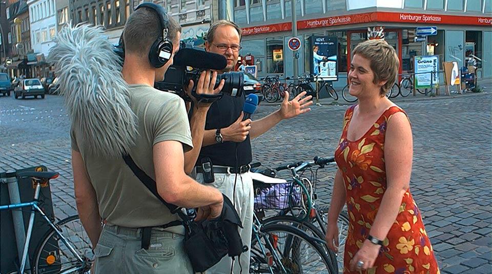 Jane O'Brien TV interview